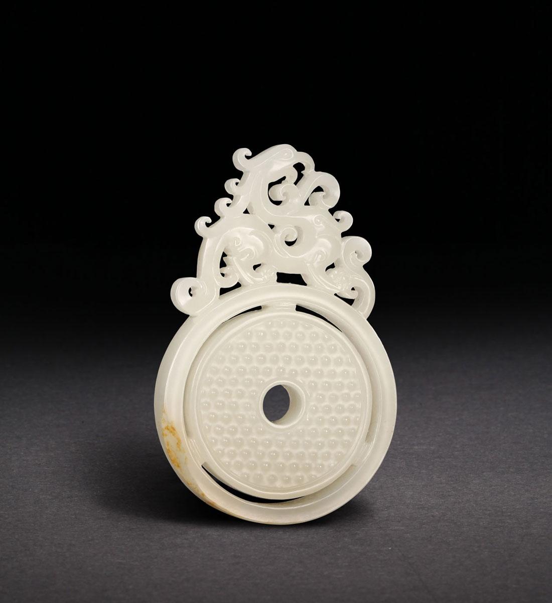 玲珑美玉--当代玉雕精品无底价拍卖会(二); 和田玉籽料 凤;; 和田玉